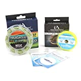 M MAXIMUMCATCH Maxcatch Fly Line Combo Pack: ECO Floating Fly Line, Backing, and Tapered Leader(3/4/5/6/7/8 wt)