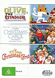Olive, The Other Reindeer / Christmast Carol The Movie / An All Dogs Christmas Carol | NON-USA Format | PAL | Region 4 Import - Australia by 20th Century Fox