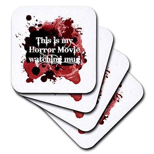 3dRose InspirationzStore - Occasions - This is my Horror Movie watching mug - for scary halloween film fans - set of 8 Coasters - Soft (cst_317314_2)]()