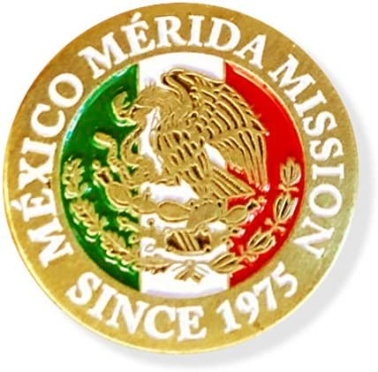LDS M\u00e9xico Veracruz Mission lapel pin