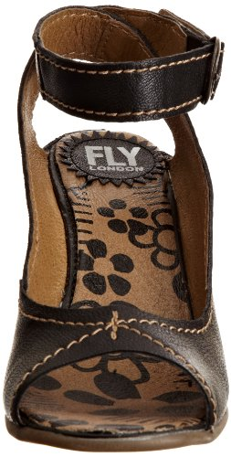 Fly London Sandali donna Nero (Noir (Noir-tr-b3-158))