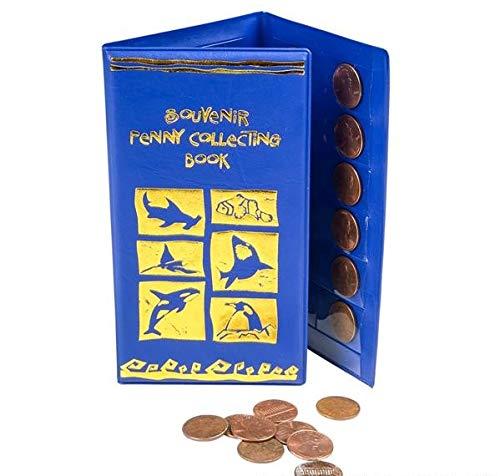 Rhode Island Novelty Aquatic Souvenir Penny Holder Book Two Per Order