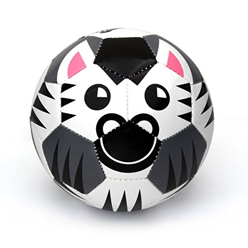 Daball Toddler Soccer Ball (Happy The Zebra)