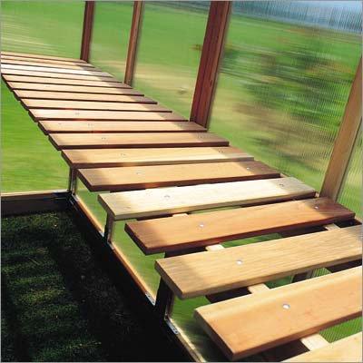 Sunshine GardenHouse Bench Kit - For Item# 24875 12ft. x 6ft. Mt. Hood GardenHouse Greenhouse, Model# GKP612-BENCH