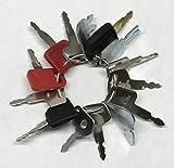 Keyman 14 Keys Heavy Equipment Key Set/Construction Ignition Key Set