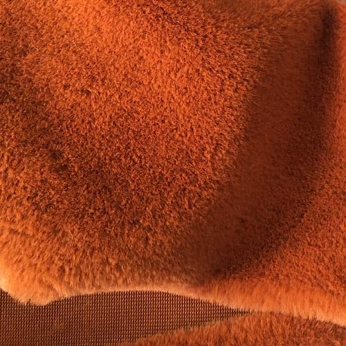 Fabric Africa Fur Super Soft Otter Rabbit Hair Environmental Printing and Dyeing Plush Cloth by NUADOO ()