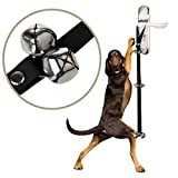Cheap Color Scissor Puppies Dog Doorbells for Dog Housetraining and Housebreaking for Potty Training Your Puppy Black