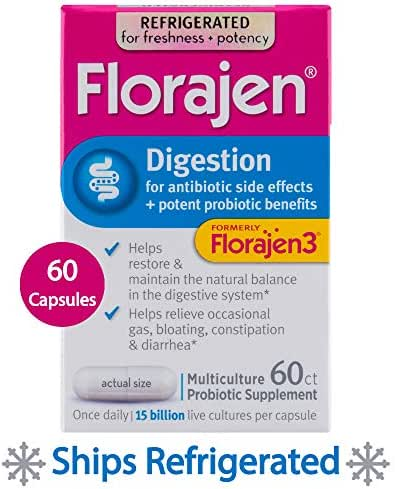 Probiotics: Florajen Digestion