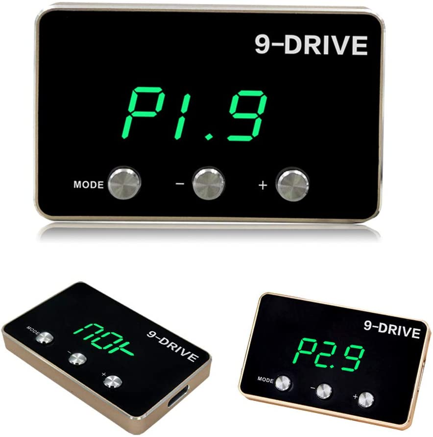 Throttle Response Controller,9 Drive 9-Mode 807 Universal Electronic Throttle Controller Racing Accelerator Potent Booster Tuning Parts Accessory Compatible with CHRYSLER DODGE JEEP MASERATTI