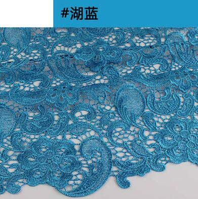 e39b610718 Amazon.com: Laliva 0.5m/lot top Quality 120-130cm Wide Crochet lace ...