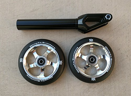 DIS 120mm Upgrade Package - Black by DropIn Scooters