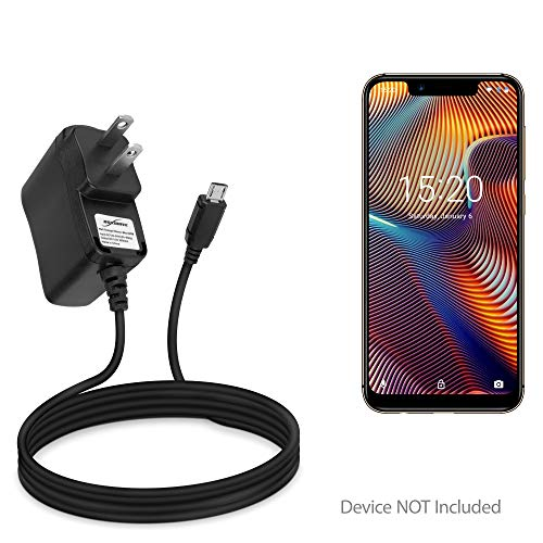 Umidigi A3 Pro Charger, BoxWave [Wall Charger Direct] Wall Plug Charger for Umidigi A3 | A3 Pro ()