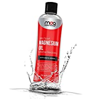 Best Muscle Pain Lotion with Pure Magnesium Oil, Arnica and MSM to Relief Cramps, Spasm and Restless Legs. Excellent for Workout Recovery. Includes Free E-Book on The Health Benefits of Magnesium!