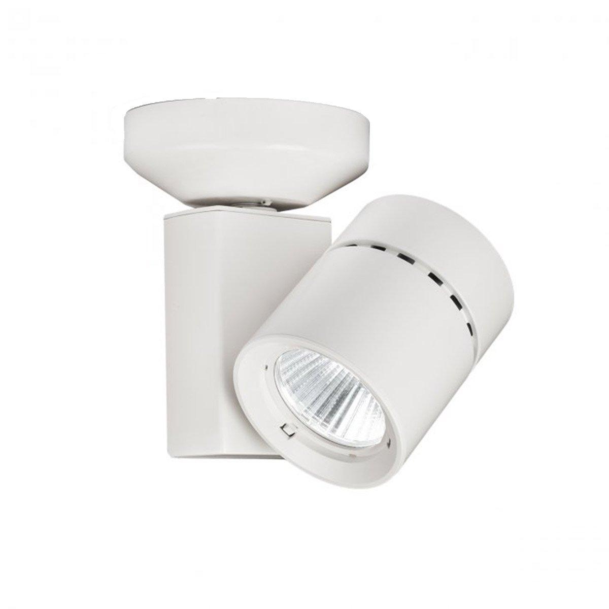 WAC Lighting MO-1023N-835-WT 1023 Exterminator II LED Energy Star Monopoint in White Finish Narrow Beam, 3500K