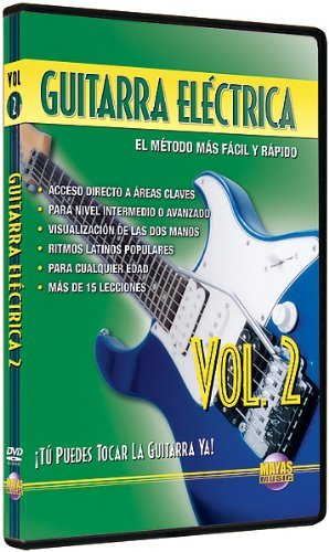 Amazon.com: Guitarra Electrica, Vol 2: Tu Puedes Tocar La Guitarra Ya! (Spanish Language Edition) (DVD) by Rogelio Maya: Rogelio Maya: Movies & TV