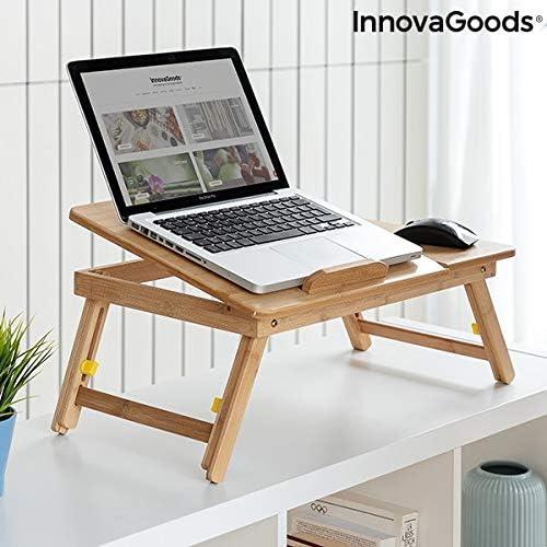 Tavolo pieghevole in bamb/ù Lapwood Piegato: 53,5 x 4,5 x 34 cm. 53,5 x 21-27 x 34 cm Dimensioni: ca InnovaGoods