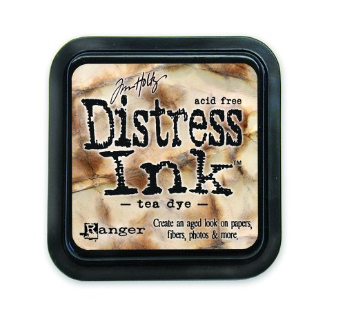 (Ranger Tim Holtz Distress Ink Pad, Tea Dye (DIS-19510))