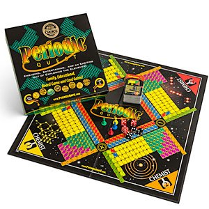 Periodic Quest: A Family, Educational Card and Board Game Set with More Than 6 Card Games and Board Games Based on the Periodic Table of Elements.