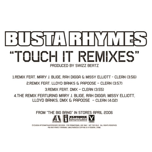 Touch It (Remix/Featuring DMX (Explicit)) [feat. DMX] [Explicit]
