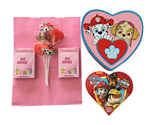 Valentines Gift Bundle Perfect for a Valentines Gift for Kids with a Paw Patrol theme