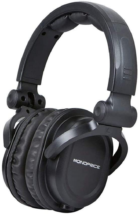 Monoprice 108323 Negro Circumaural Diadema auricular: Amazon.es ...