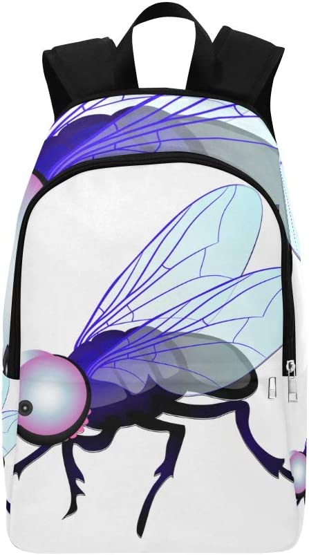 Dessin Anime Insecte Volant Mouches Animation Casual Daypack Voyage Sac College Sac A Dos Pour College Pour Hommes Et Femmes Amazon Fr Bagages