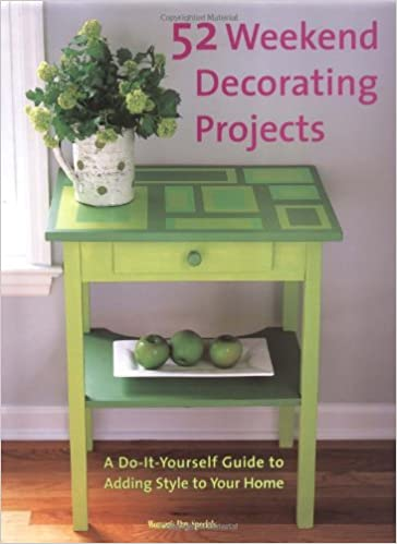 52 weekend decorating projects a guide to adding personal style to 52 weekend decorating projects a guide to adding personal style to your home editors of womans day 9782850188336 amazon books solutioingenieria Images