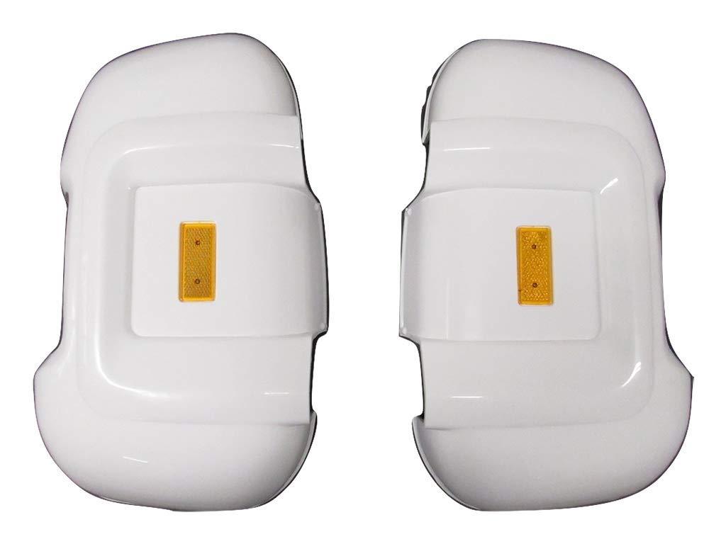 Caravan Supermarket Mirror Protectors Long Arm With Front And Rear Reflectors