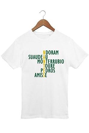873c6e14d518 Le T-shirt Foot T-Shirt Homme Foot Légendes Nantes - pour Fan du FC ...