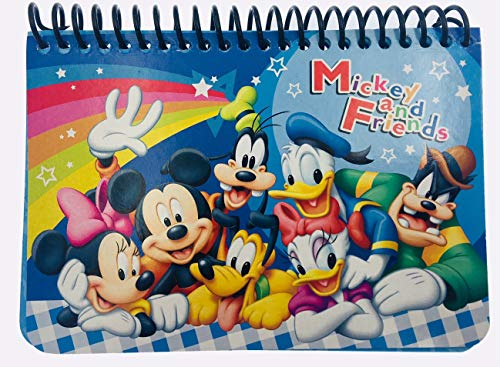 Disney Autograph Albums (Disney Mickey Autograph Book - Blue Mickey and Friends)