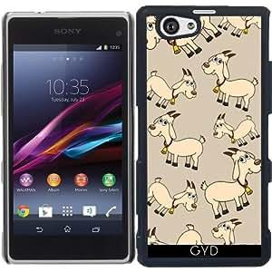 Funda para Sony Xperia Z1 Compact - Una Cabra Con Una Campana by zorg