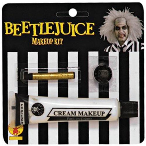 [Beetlejuice Makeup Kit Costume Accessory] (Beetlejuice Costume Mens)