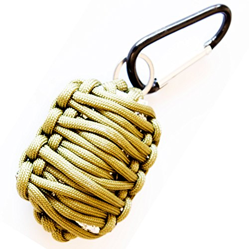 Best Emergency Survival Kit - Ultralight & Easy-to-Carry Paracord Grenade - Perfect...