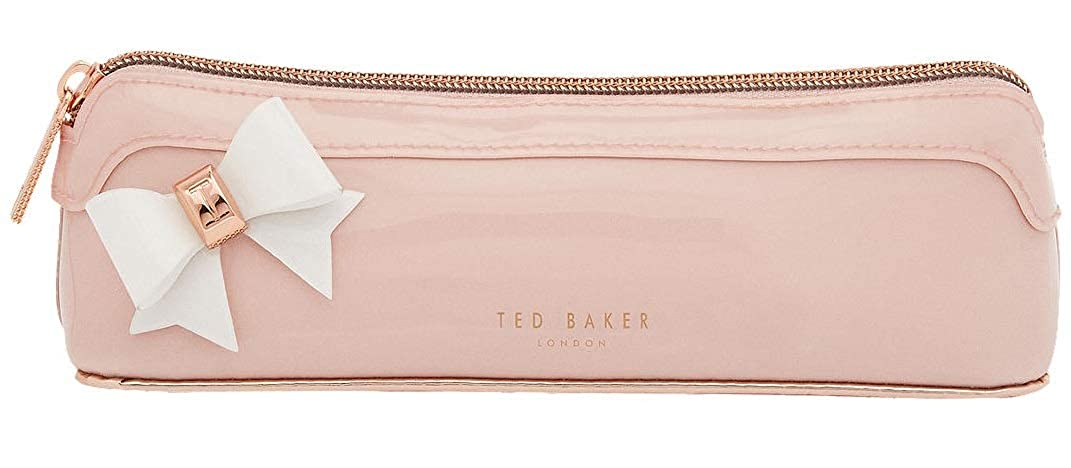 6ba1f3584 Ted Baker Everlee Bow Pencil Case Make Up Brush Case in Pink  Amazon.co.uk   Shoes   Bags