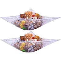 Jumbo Toy Hammock -2PACK- Organize stuffed animals or children's toys with th...