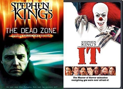 Stephen King IT & Dead Zone DVD Horror Double Feature Movie ()