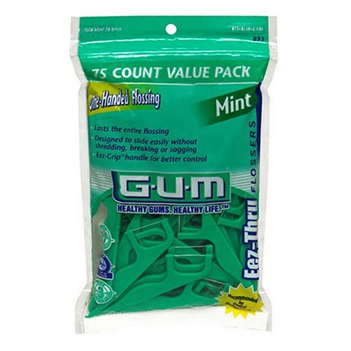 GUM Flossers - Mint - 90 ct