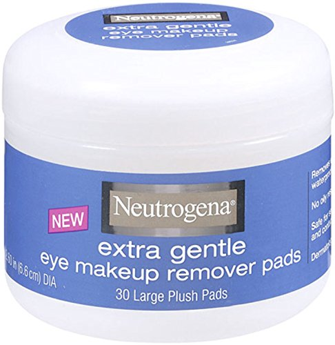 Neutrogena Eye Makeup Remover Pads, Extra Gentle, Large Plus