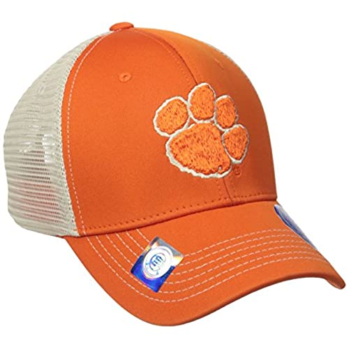 340d923cf00 ... get clemson tigers ncaa tow ranger adjustable performance mesh hat  56bcf 10219
