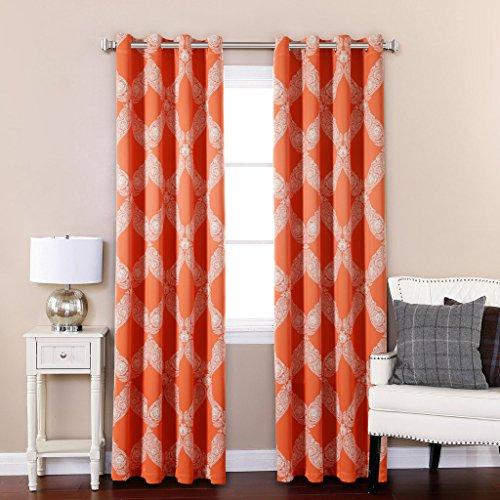 Compare Price To Burnt Orange Panel Curtains