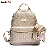 shoppingmal New fashion korean style women bookbags casual embossing backpack cute school bags backpacks for teenage girls mochila feminina