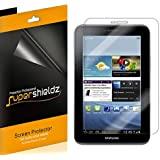[3-Pack] SUPERSHIELDZ- High Definition Clear Screen Protector For Samsung Galaxy Tab 2 7.0 7 inch Tablet + Lifetime Replacements Warranty - [3-PACK] Retail Packaging
