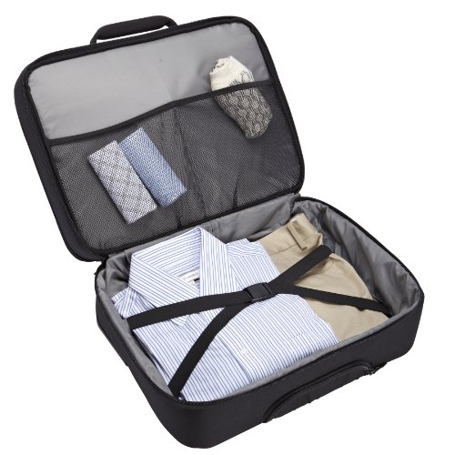 Case Logic ANR317K Notebook Roller 43,9 cm (17,3 Zoll) Trolley mit Laptop- & iPad-Fach Schwarz
