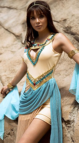 Sexy Egyptian Queen Costumes - Leg Avenue Womens 3 Pc Sexy