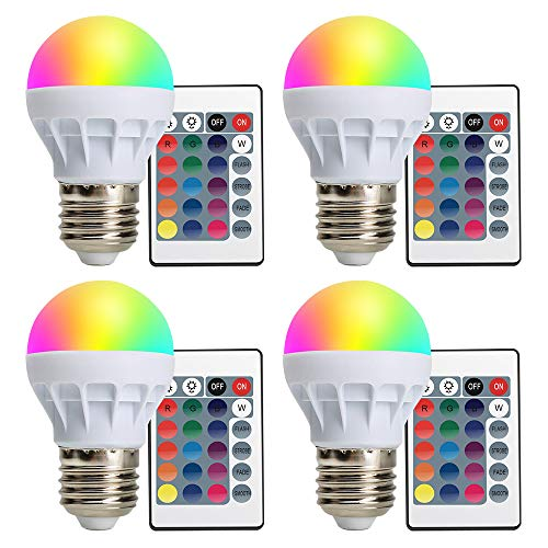 colored ceiling fan bulbs - 8