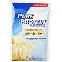 Pure Protein® Whey Powder - Vanilla, 7 Single Serving Packets