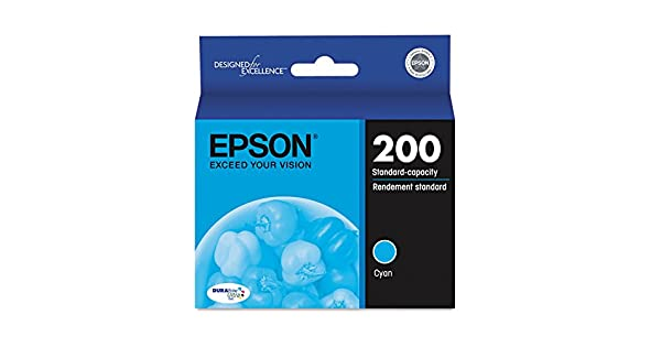 Amazon.com: Epson América – 200 Ultra Cyan Ink Cartridge ...