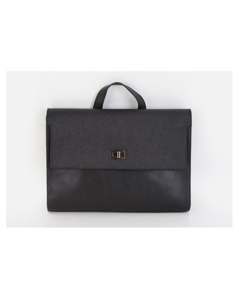 Fromb Albert Cowhide Business Bag Black