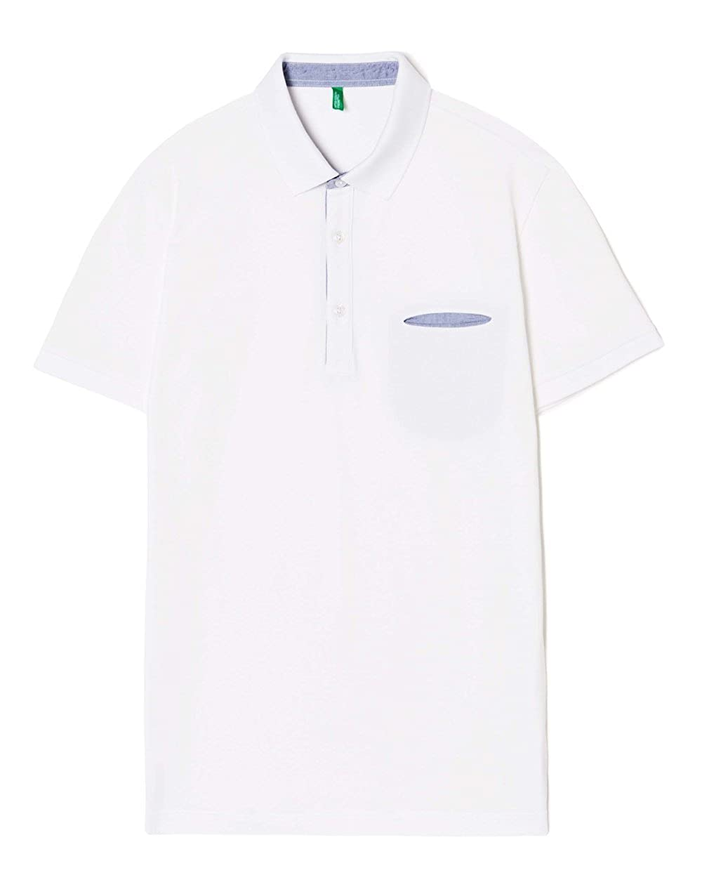 United Colors of Benetton H/s Polo Shirt 3aonj3055, Hombre, Blanco ...