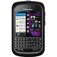 OtterBox Defender Series Case for BlackBerry Q10 - Retail Packaging - Black (Discontinued by Manufacturer)